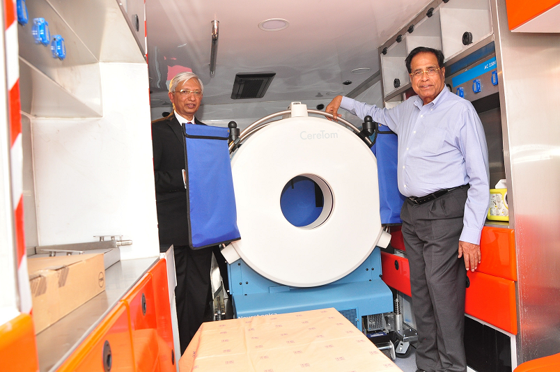 Photo of India's First Mobile Stroke Unit Launched by Kovai Medical Center, Coimbatore
