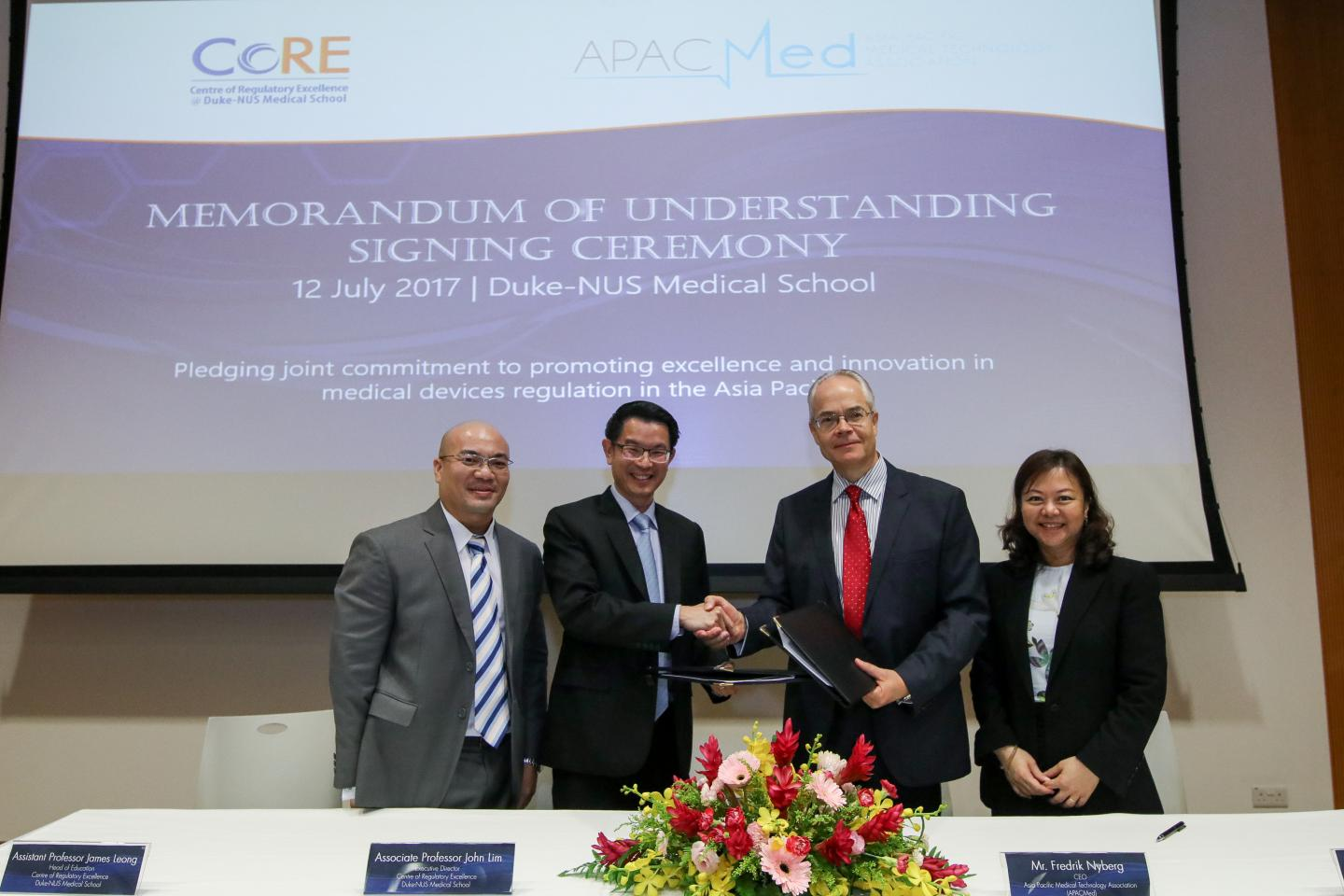 Photo of APACMed announces partnership with CoRE