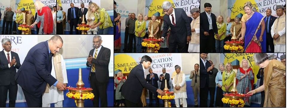 Photo of Simulation, Education and Research Centre for Nursing Excellence inaugrated at Bangalore Baptist Hospital