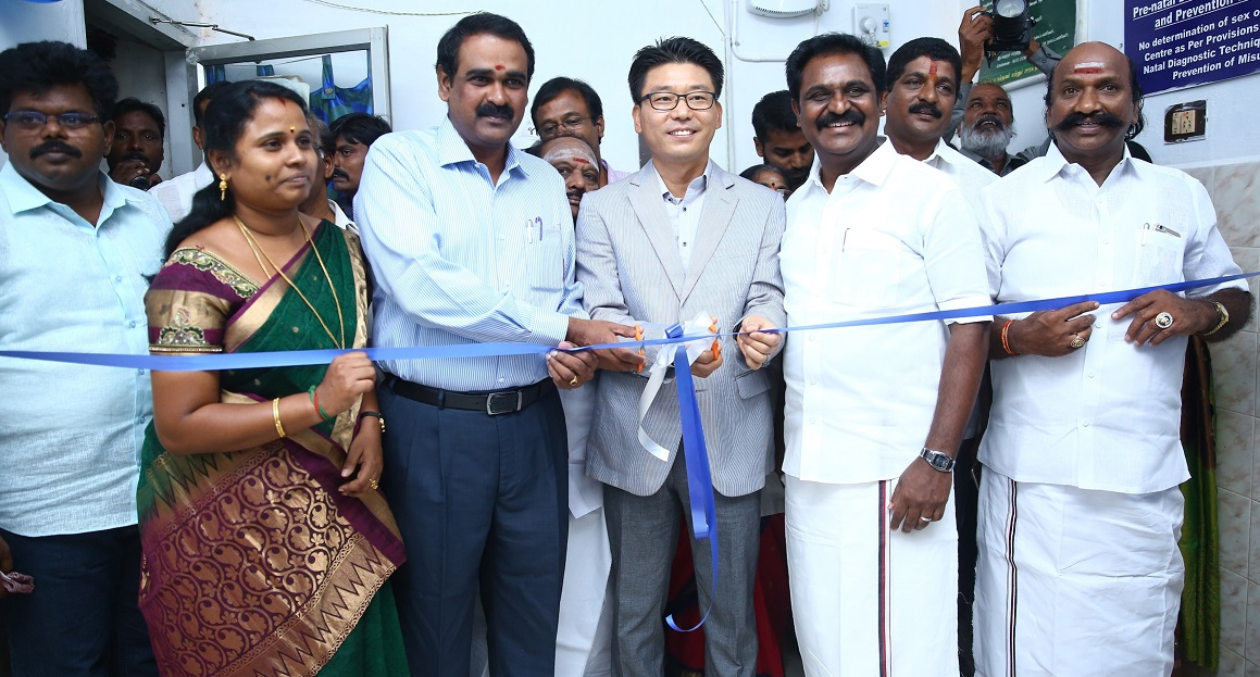 Photo of Samsung provides free ultrasound, digital radiology (X-Ray) to Government Headquarters Hospital, Kanchipuram