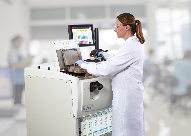 Photo of Traceability and Accountability into Tissue Processing with the HistoCore PELORIS 3