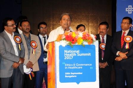 Photo of Selfless and Ethical Medical Service is the need of the hour: Chief Minister Sri. Siddaramaiah