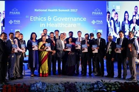 Photo of Manual on Medical Ethics and Professionalism released at Bangalore