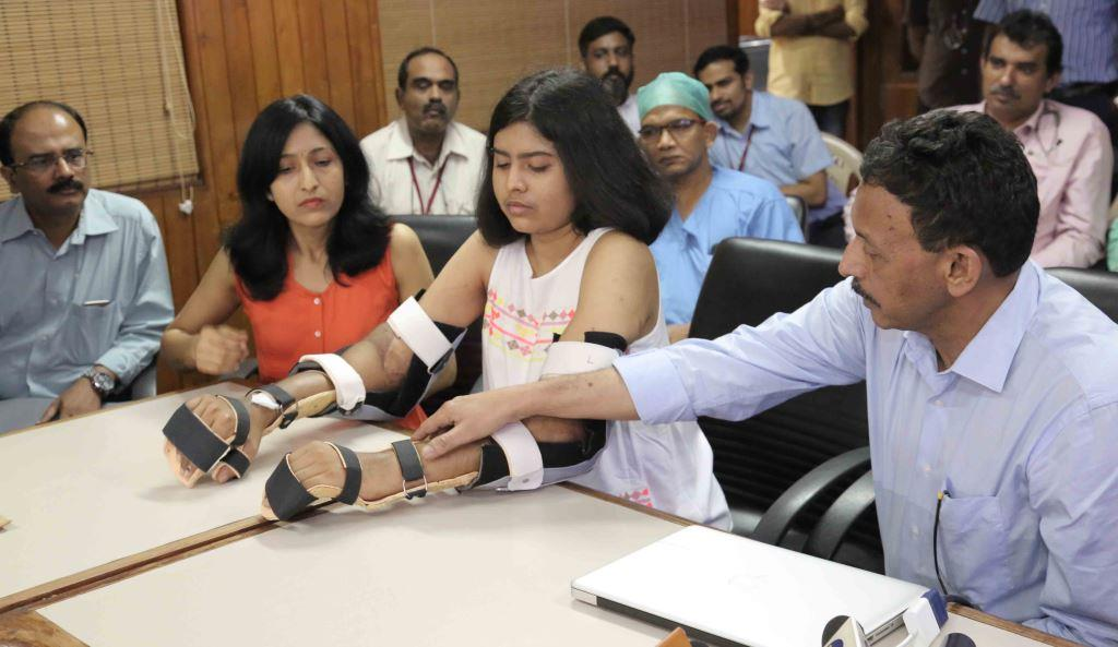Photo of Amrita Hospital conducts Asia's first upper-arm double hand-transplant