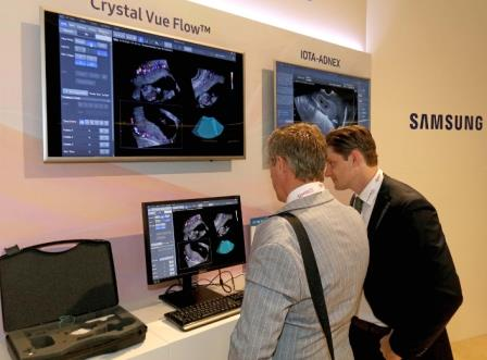 Photo of Armed with 5D Heart Study Results Samsung makes it's Presence felt at 27th World Congress of ISUOG