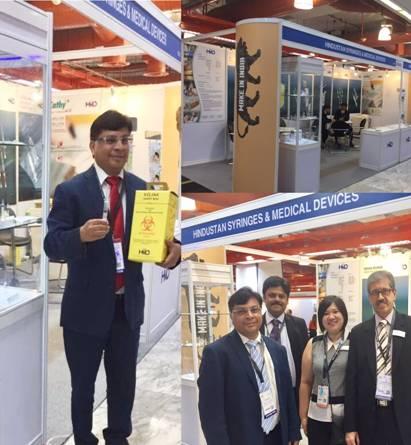 Photo of Indian Pavilion at Medical Fair Thiland 2017, Led By Rajiv Nath