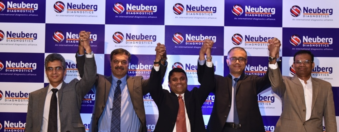 Photo of Neuberg Diagnostics, Combined Diagnostic Expertise of 5 Leading Labs Launched at B'lor