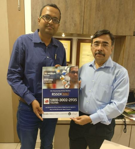 Photo of RSSDI launches DiaHelp – India's first toll free diabetes helpline
