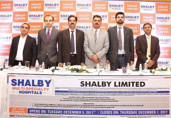 Photo of Shalby Hospital Public Offer opens on December 5, Price Band: Rs 245-248 per Equity Share