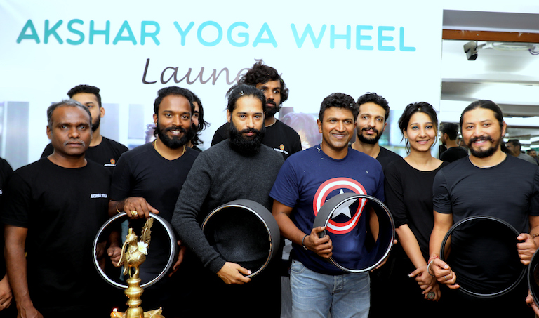 Akshar Yoga Yoga Wheel Launch