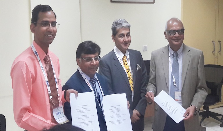 QCI , AMTZ and AiMeD launchIndian Bio-medical Skill Consortium
