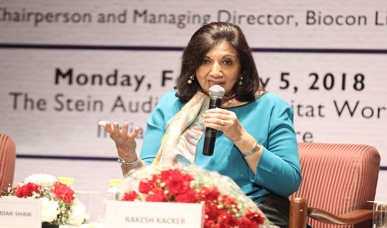 Photo of Kiran Mazumdar-Shaw Conferred with Lifetime Achievement Award by ICMR