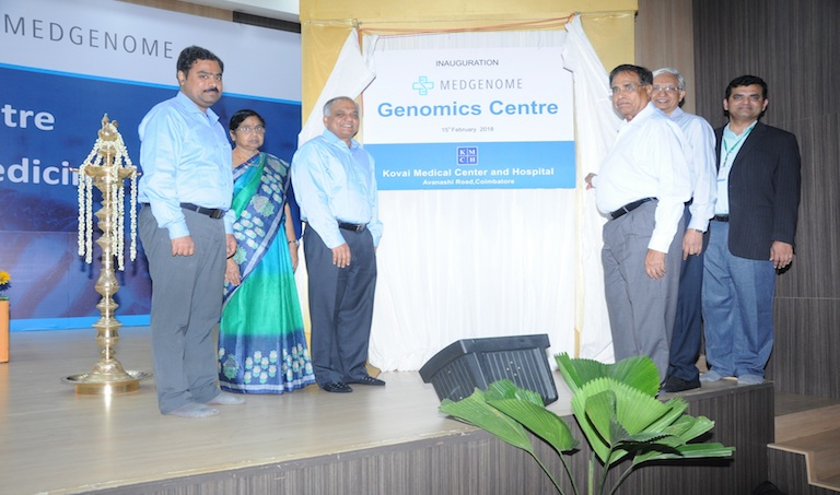 Photo of Kovai Medical Center and Hospital and MedGenome launch Genomics Center at KMCH, Coimbatore