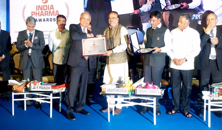 Govt. of India bestows Transasia with 'India Medical Devices Export Company of the Year' award