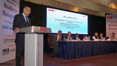 Photo of XIME International conference on Best practices in healthcare management