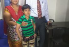 Photo of Cell based therapy helps 8 year old boy from Jaipur walk