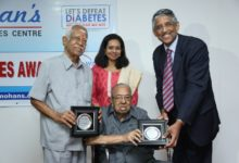 Photo of Dr. Mohan's Institute Recognizes Elderly(90y), Healthy Diabetic Individuals