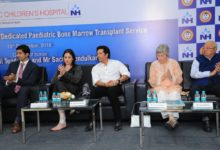 Photo of Bharat Ratna Sachin Tendulkar inaugurated Bone Marrow Transplant services at NH-SRCC Children's Hospital,