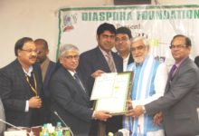 Photo of Health Minister confers 'Award of Appreciation' to Rajiv Nath, AIMED