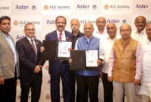 Photo of Aster DM Healthcare to run and operate its 4th Hospital in Bengaluru in partnership with Karnataka Lingayat Education Society
