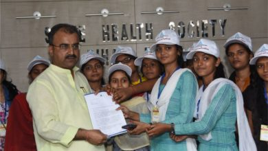 Photo of Health Minister Mangal Pandey receives Charter of demands from youth leaders