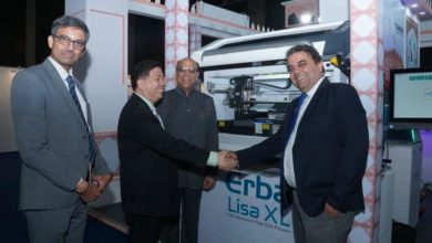 """Photo of Transasia Bio -Medicals unveils """"Lisa XL"""" at the 15th Asia-Pacific Federation for Clinical Biochemistry & Laboratory Medicine Congress in Jaipur"""