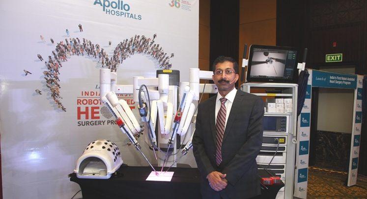 Robot-assisted cardiac surgery