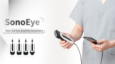 Photo of Handheld Ultrasound System, Sonoeye, launched