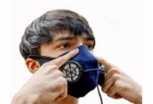 Photo of Battery-operated mask launched in Delhi