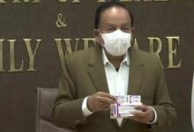 Photo of Union health minister launches first pneumococcal vaccine Developed by Serum Institute