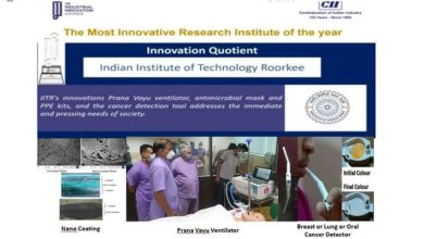 Photo of IIT Roorkee bags CII Industrial Innovation Awards 2020