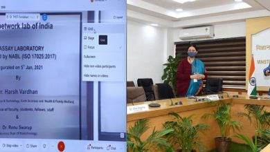 Photo of Dr Harsh Vardhan inaugurates CEPI Centralized network lab at DBT-THSTI Faridabad