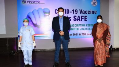 Photo of Covid vaccination drive held at Vedanta's plant in Jharsuguda