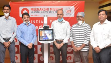 Photo of Meenakshi Mission Hospital introduces telemedicine robots