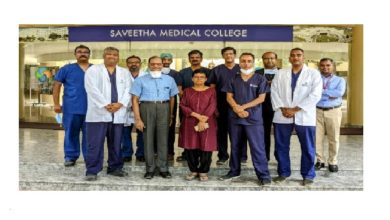 Photo of Saveetha Medical College and Hospital partners with Smile Train