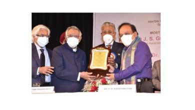 Photo of Dr Harsh Vardhan addresses 40th Anniversary of AGE CARE India