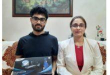 Photo of Mumbai student innovator develops Cov-Tech