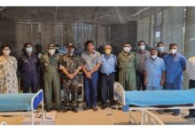 Photo of M3M, Indian Air force creates 150 bed Covid care centre in Gurgaon