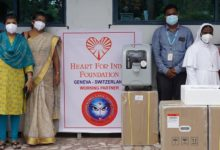 Photo of Heart for India Foundation provides oxygen concentrators to St-Thomas Hospital