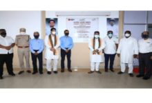 Photo of Union petroleum minister inaugurates 270-bedded covid centre in Angul, Odisha