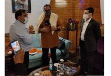 MoS IT Rajeev Chandrasekhar inaugurates sub-district hospital at Chrarisharief, J&K