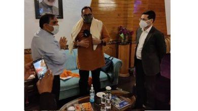 Photo of MoS IT Rajeev Chandrasekhar inaugurates sub-district hospital at Chrarisharief, J&K