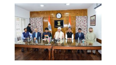 Photo of J&K signs MoU with Dubai govt for medical college, super speciality hospitals