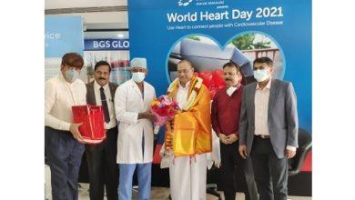 Photo of BGS Gleneagles Global Hospital organises event on cardiac health